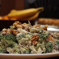 Amazing Nutty Broccoli Salad