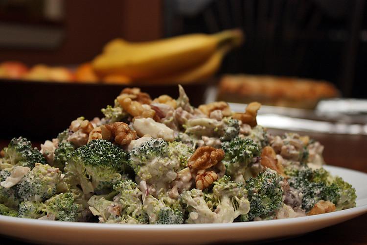 Amazing Nutty Broccoli Salad