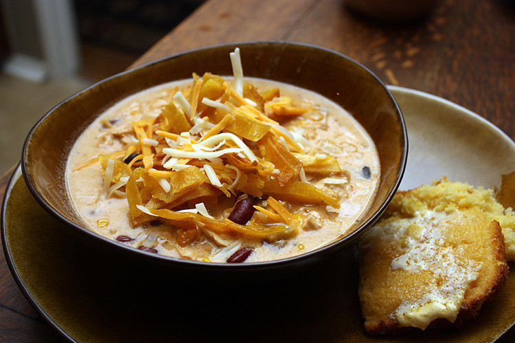 Creamy Chicken Tortilla Soup My Mothers Daughter