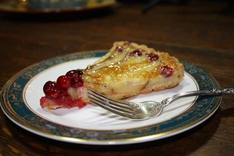Pear & Cranberry Tart | My Mother's Daughter