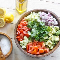 A Perfect Summer Salad